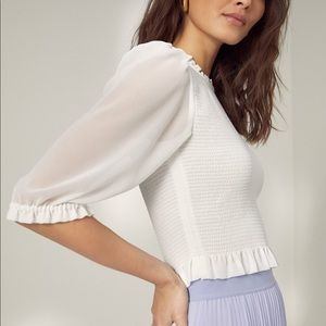 WILFRED Tempest Short Sleeve Blouse